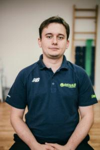 Wojciech Szreder, Fizjoterapeuta z Gdańska