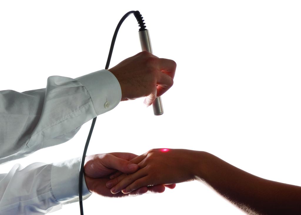 Zabieg laseroterapii w rehabilitacji